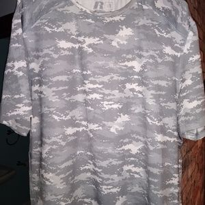 Snow Camo Men's Athletic Fresh ForceTee